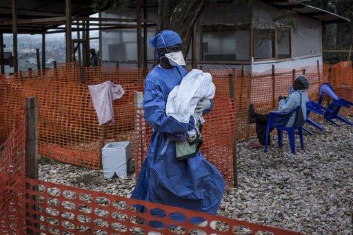 Ebola breitet sich in großen Kongo-Stadt als Impfstoffe ein Anliegen