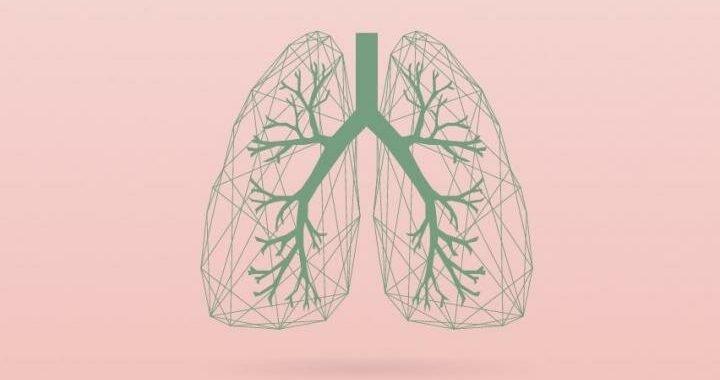 Nicht-invasive bildgebende Technik, gültig für die Identifizierung von kleinen Erkrankung der Atemwege in den Lungen