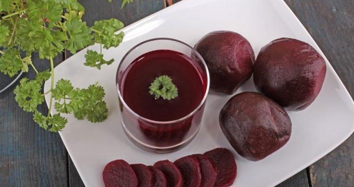 Studie zu Bluthochdruck: Dank Rote-Beete-Saft den Blutdruck verringern