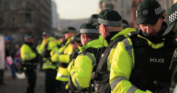 Großbritannien Polizei—fast ein in fünf leiden mit einer form des PTSD
