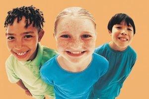 US-Eltern besorgt Kind Kommunikation Fähigkeiten