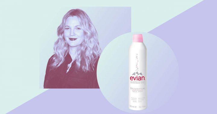 Drew Barrymore Schwört auf Dieses Unerwartete Produkt zu Stil Ihr Haar Perfekt
