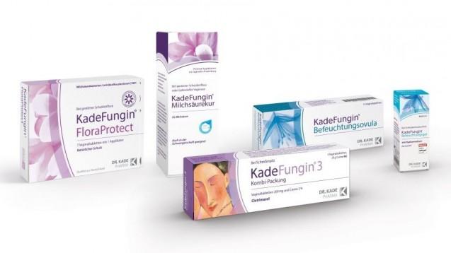 Neues Packungsdesign für Kadefungin