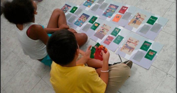 Gebäude eine storytelling-app, die Lesefähigkeit unter Gehörlosen Kindern
