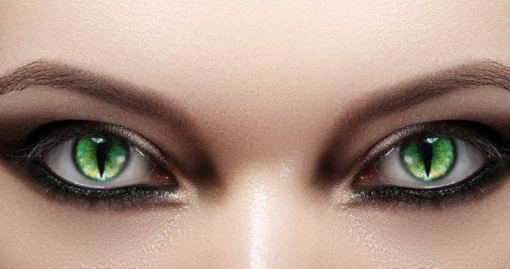 Die gruseligsten Teil von Halloween kann sein Kostüm Kontaktlinsen, ein Auge Arzt sagt