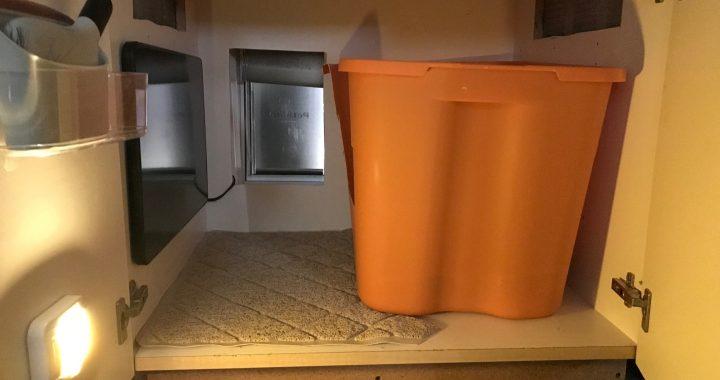 DIY-Projekt – Turn-Zwei Chaotisch Katzenklos in ein Betrogen-Out-Katzenstreu Zimmer zu Holen! Pet Care