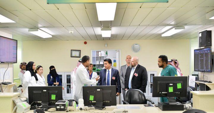 Riyadh hospital King Abdulaziz Medical City erreicht EMRAM Stufe 7