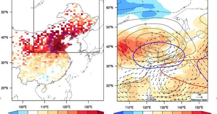 China Bedrohungen der Gesundheit, wahrscheinlich aufgrund der Zunahme von Hitzewellen