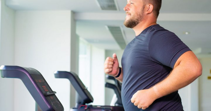 Lungenfunktion sinkt, wenn das Gewicht steigt