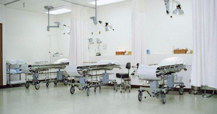 Sechsunddreißig Prozent der verfügbaren Krankenhaus-Betten unbesetzt typischen Tag