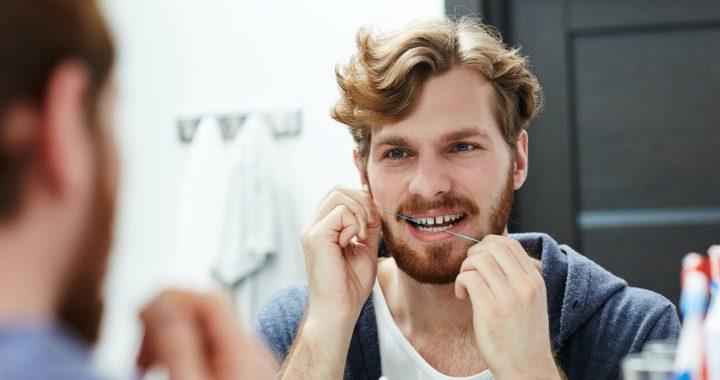 Brauchen Sie, um Zahnseide Ihre Zähne? Es hängt davon ab,
