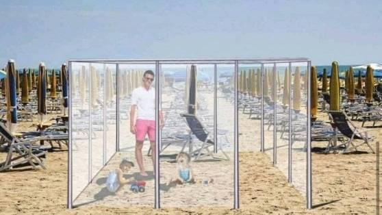 Plexiglas-Boxen und Maskenpflicht am Strand: Wie der Sommer in Italien aussehen könnte
