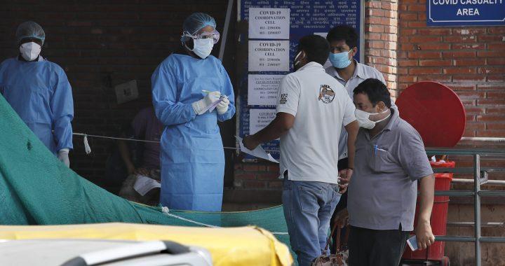 """Die """" tickende Zeit Bombe:' Mangel an Betten verlangsamt Delhi-virus kämpfen"""