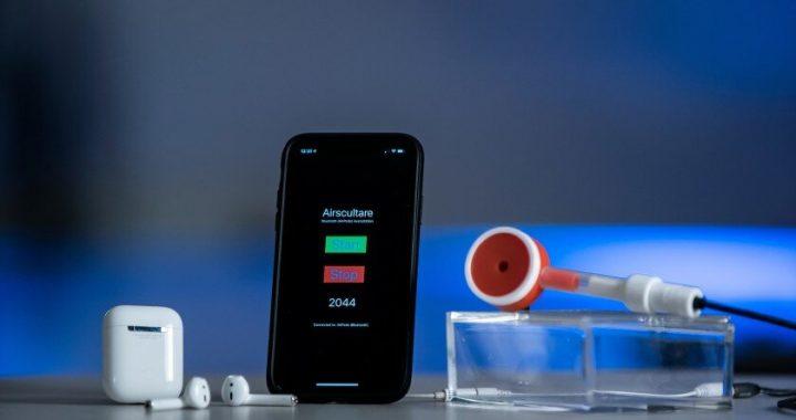 Forscher design bluetooth-Stethoskop, das mit einem 50-Fuß-Bereich, um zu helfen, die im Gesundheitswesen tätig bleiben Sie sicher