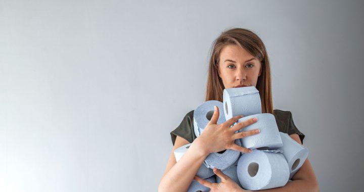 Gewissenhafte Personen hamstern Toilettenpapier