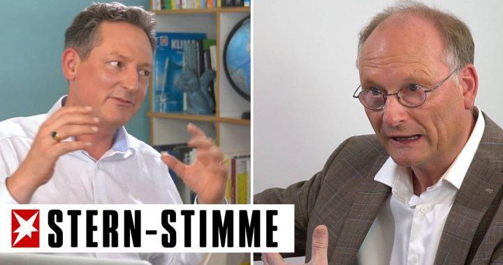 """""""Für Corona haben wir keinen Impfstoff, für die Klimakrise schon"""": Hirschhausen trifft Meteorologe Plöger"""