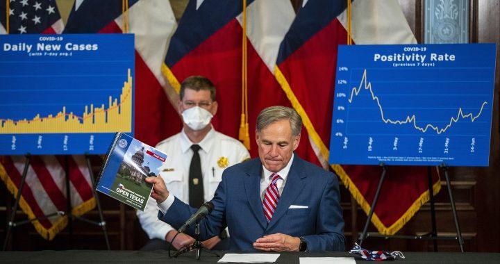 Texas hat 5.000 neue Fälle zum ersten mal als virus überspannungen