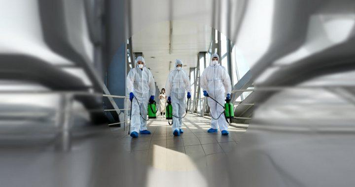 Umfrage: raumpfleger, eine erste Linie der Verteidigung von COVID-19, mangelnde Zeit, um gründlich reinigen