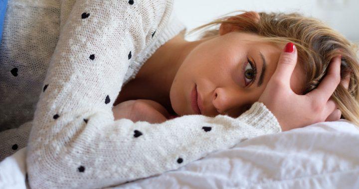 Viele Jugendliche liegen nachts wach
