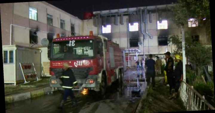 Bagdad: Mindestens 82 Corona-Patientensterben bei Brand in Krankenhaus