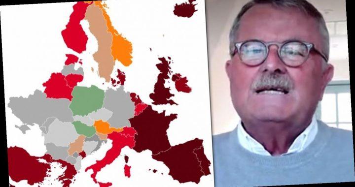 Ärztebund-Chef wettert gegen Impf-Politik – Europa-Karte färbt sich rot